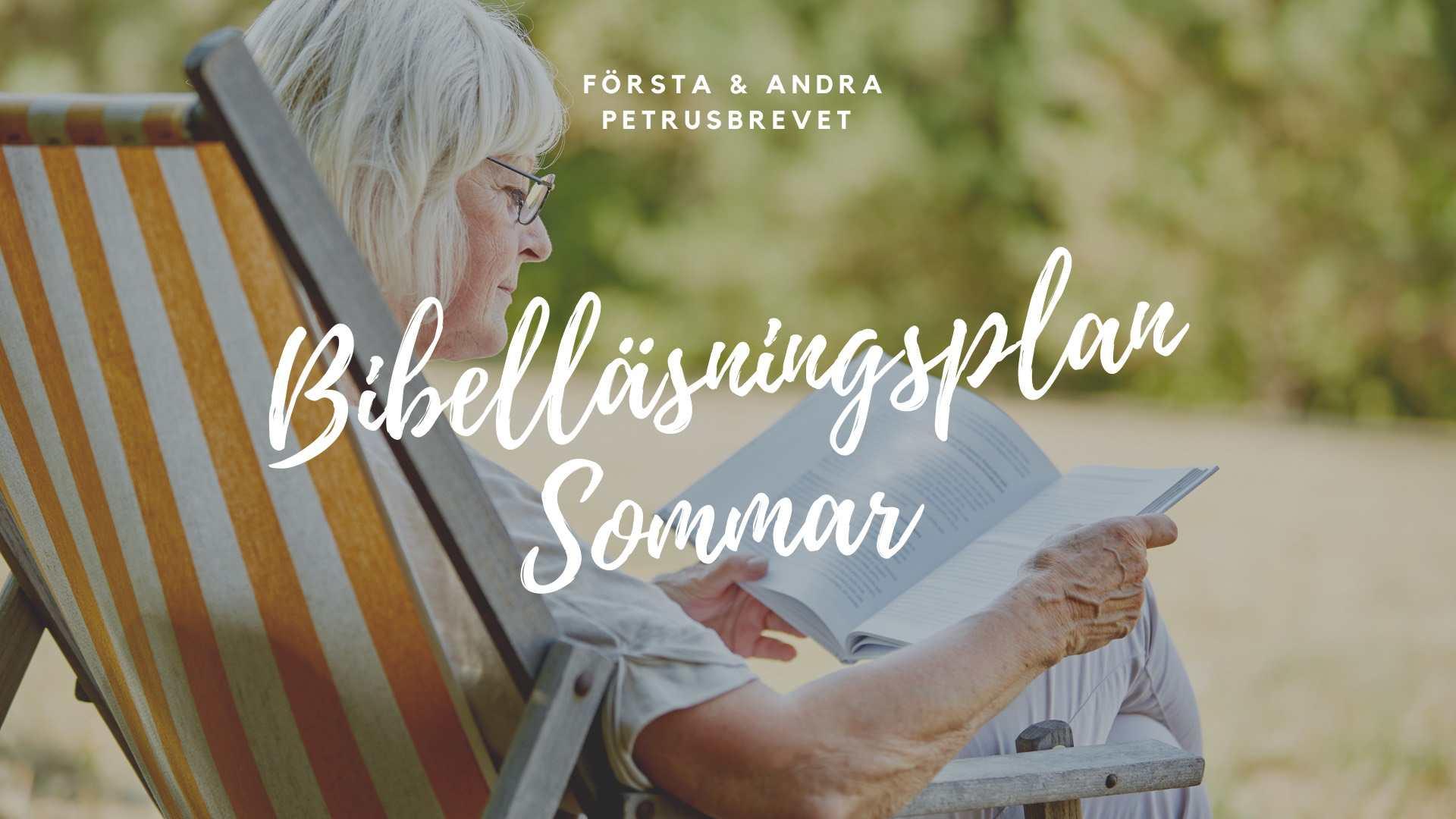 Bibelläsningsplan sommaren 2021
